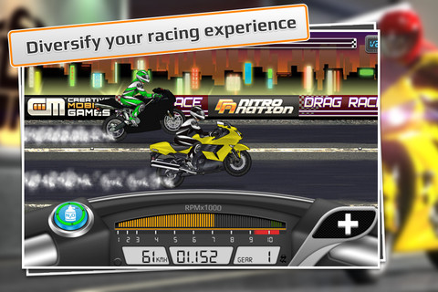 Drag Racing Bike App - AppsGadgetsETC.com