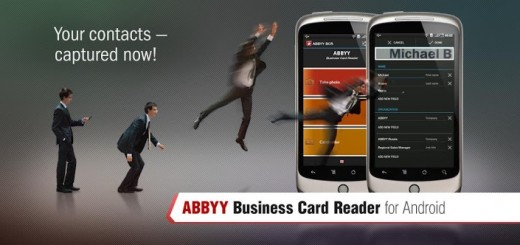 New abbyy android app delivers wireless business cards transfer new abbyy android app delivers wireless business cards transfer capability reheart Gallery