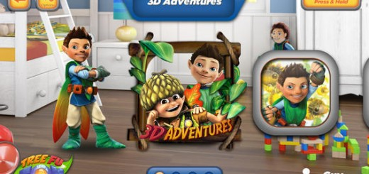 Tree Fu Tom 3D Adventures